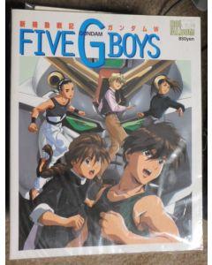 5 G Boys ABk - 5 G Boys Gundam Wing art book