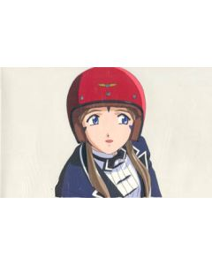 AMG-108  anime cel Belldandy wearing helmet!!  $299.99