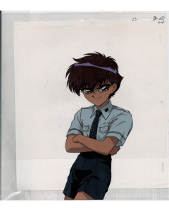 CCD-041 - CLAMP Campus Detectives Oversized pan anime cel