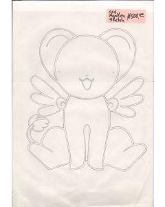CCS-hanken01 - Card Captor Sakura Kero hanken sketch