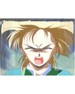 FY491 - Fushigi Yuugi Oversized Pan anime cel (Color copy background)