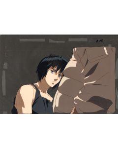 GITShell-02 - Ghost In The Shell anime cel - Major Kusanagi