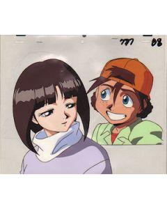 GundamX-25 Tiffa - Gundam X anime cel