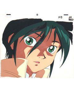 GundamX-29 Garrod - Gundam X anime cel
