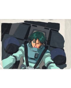 GundamX-33 - Gundam X anime cel (Oversized pan cel)