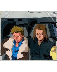 GundamX-35 - Gundam X anime cel