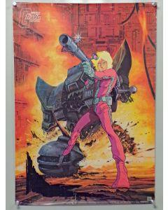 "Gundam02-B2-POS - Gundam B2 sized(Approx. 20"" x 29"") promo poster (rolled VG - pin holes, edge wear, creasing, yellowing) Char"