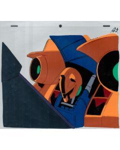 Gundam-25 - Gundam anime cel