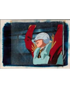 GundamWing-64 - Gundam Wing anime cel