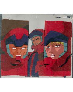 GundamZZ-02 - Gundam ZZ anime cel