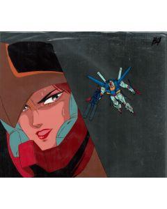 GundamZZ-04 - Gundam ZZ anime cel