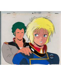 GundamZZ-09 - Gundam ZZ anime cel