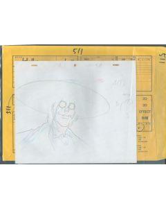 Hellsing-08 - HELLSING ULTIMATE Ep. #1/Cut 511 (Timing sheet/cut bag// 2  gengas)