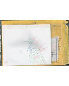 Hellsing-16 - HELLSING ULTIMATE Ep. #1/Cut 137 (Timing sheet/cut bag/ 10+  gengas)