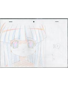 Higurashi-03 - Higurashi anime genga sketch ( 3 gengas)
