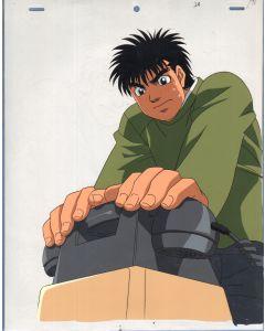 HNI-02 - Hajime No Ippo oversized anime cel