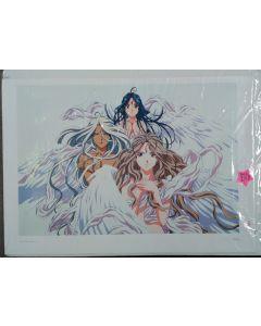 AH MY GODDESS 3 Goddesses #1 1000 Edition Print