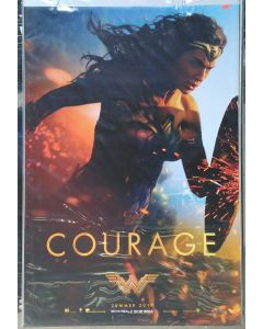 """WONDER WOMAN US Teaser (COURAGE) DS Theatrical Movie Poster (28"""" x 40"""")"""