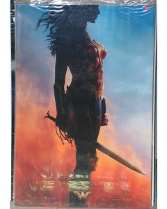 """WONDER WOMAN US Teaser (Profile) DS Theatrical Movie Poster (28"""" x 40"""")"""