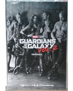 """GUARDIANS OF THE GALAXY VOL. 2 US Teaser DS Theatrical Movie Poster (28"""" x 40"""")"""