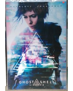 """GHOST IN THE SHELL US Teaser DS Theatrical Movie Poster (28"""" x 40"""")"""
