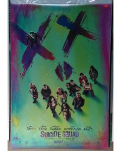 """SUICIDE SQUAD US Teaser DS Theatrical Movie Poster (28"""" x 40"""")"""