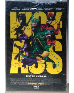 """KICK-ASS  US Advance DS Theatrical Movie Poster (28"""" x 40"""")"""
