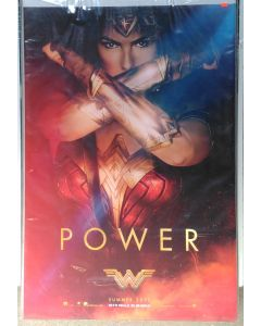 """WONDER WOMAN US Teaser (POWER) DS Theatrical Movie Poster (28"""" x 40"""")"""