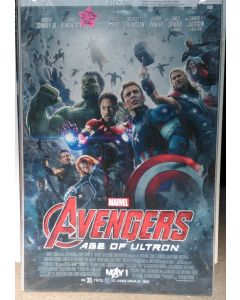 """AVENGERS AGE OF ULTRON  US Advance DS Theatrical Movie Poster (28"""" x 40"""")"""