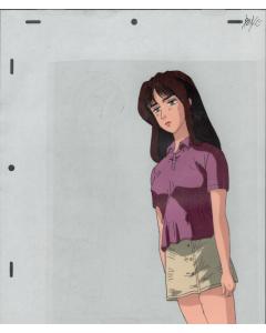 InitialD-06 - Initial D anime cel (Oversized Pan cel)