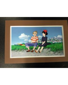 """Ghibli Print Kiki DS - Licensed Ghibli print (27 x 42 cm) for """" Kiki's Delivery Service"""" from 2016 calender (Matte not included!!)"""