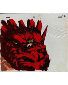LodossOVA-49 -  Lodoss War OVA anime cel - Red Dragon
