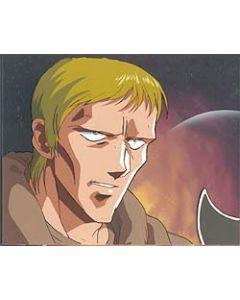 LodossOVA-22 - Lodoss War OVA anime cel (Great cel of Slayn with matching background!!)