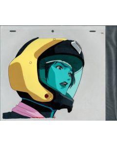 Mac7-70 - Macross 7 anime cel (w/sketch)