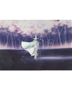 Maho Tsukai Tai-28 - Jeff-kun anime cel