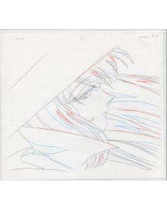 Maho Tsukai Tai-64 - Maho Tsukai Tai TV Aburatsubo anime genga sketch