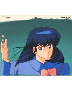 Maison Ikkokou-44 - Maison Ikkokou anime cel - Kyoko (With background!!)