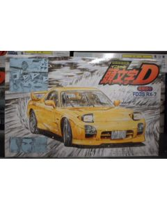 Initial D RX-7 FD3S Mazda Speed 1/24 scale Fujimi Model Kit
