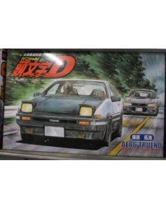 Initial D Toyota AE86 9 (Black Hood) Tureno 1/24 scale Fujimi Model Kit