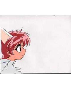 Magic Knight Rayearth-107 - Magic Knight Rayearth TV anime cel (Hikaru With cat ears)