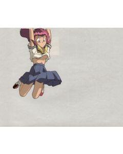 NukuNukuOVA-45 - Nuku Nuku jumping!!  anime cel