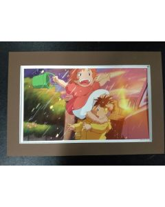 """Ghibli Print Ponyo - Licensed Ghibli print (27 x 42 cm) for """" Ponyo"""" from 2016 calender (Matte not included!!)"""