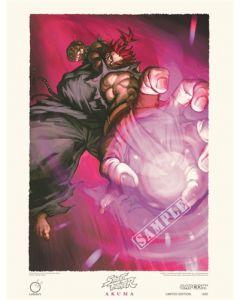Street Fighter Limited Edition Print AKUMA