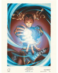 Street Fighter Limited Edition Print CHUN-LI