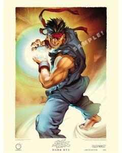 Street Fighter Limited Edition Print DARK RYU