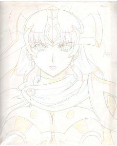 Queens Blade-01 (Oversized Queen's Blade sketch set)