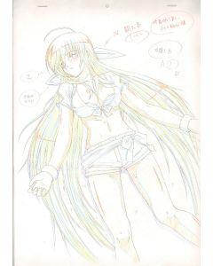 Queens Blade-03 (Oversized Queen's Blade sketch set)