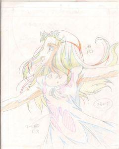 Queens Blade-04 (Oversized Queen's Blade sketch set)