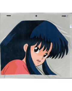 Ranma540 - Ranma 1/2 anime cel (Long-haired Akane)