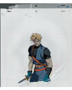 Samurai Spirits-02 - Samurai Spirits / Samurai Showdown Oversized Pan anime cel